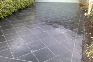 Driveways Paving Melbourne Grey Diamond Slate Tiles
