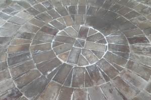 Bricklaying Paving Circular concentric