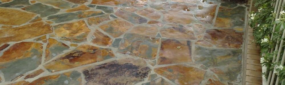 paving slate landscaping path pathway crazy Landscape