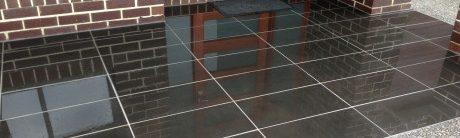 Paving tiles entrance Landscape