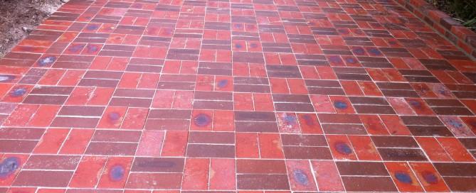 Bricklaying Paving driveway