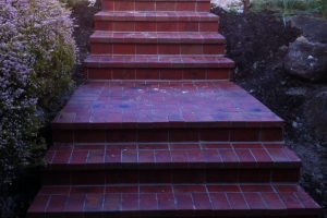 Bricklaying Paving Steps landscaping stairs
