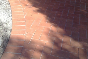 Driveways Paving Eastern Suburbs Red Brick neat