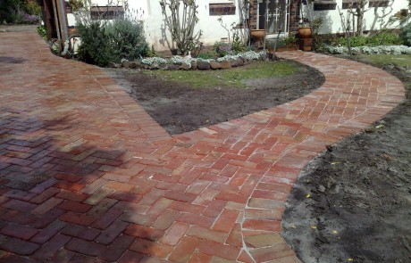 Driveways Paving Brick reclaimed