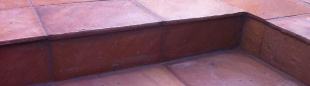 paving stone square landscaping garden makeover steps