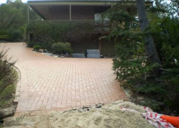 Brick driveway, Paving and Landscape Solutions