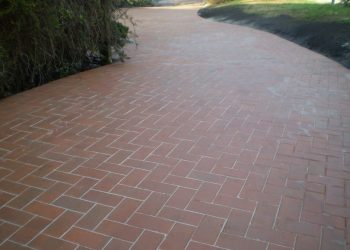 Driveways Paving Melbourne Sloping