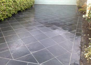 Driveways Paving Melbourne Grey Diamond Slate Tiles